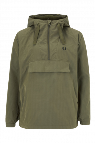 Fred Perry Ripstop Half Zip Jacket