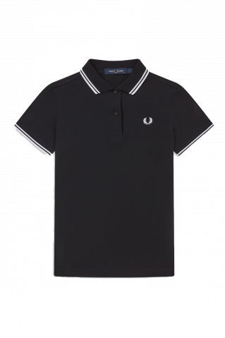 Fred Perry Twin Tipped Polo T-Shirt