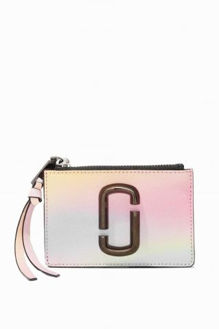 Marc Jacobs Snapshot Airbrush Top.Zip Multi Wallet