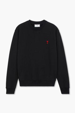 AMI Paris de Coeur Crewneck Sweatshirt
