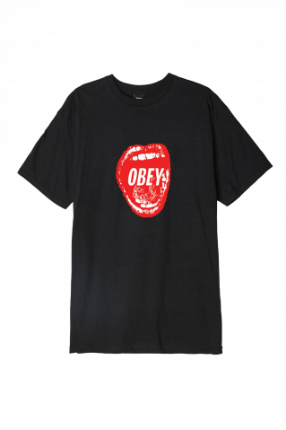 Obey Screamin' Lips 2 Shrunken T-Shirt
