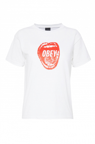 Obey Screamin' Lips 2 Shrunken Shirt