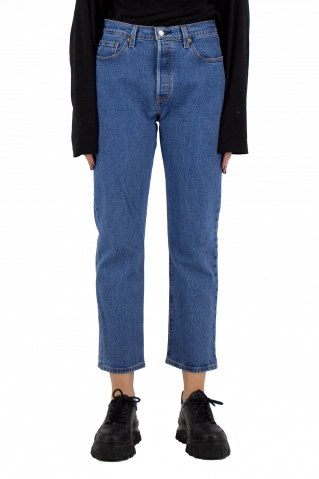 Levis High Waisted Taper Jeans