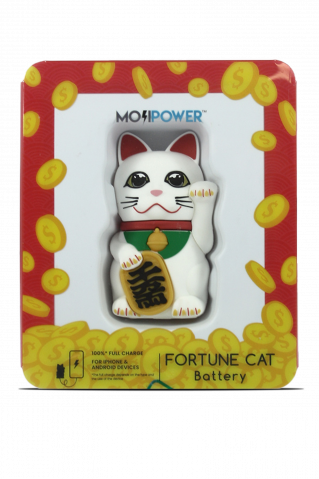 Moji Power Furtune Cat
