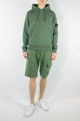 Stone Island Garment Dyed Popover Hoodie