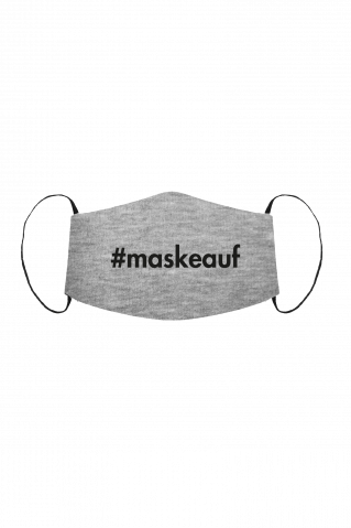 Gesichtsmaske Maskeauf Grey Heather