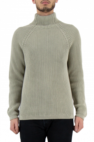 Drykorn Arvid Funnel Neck Crew Knit