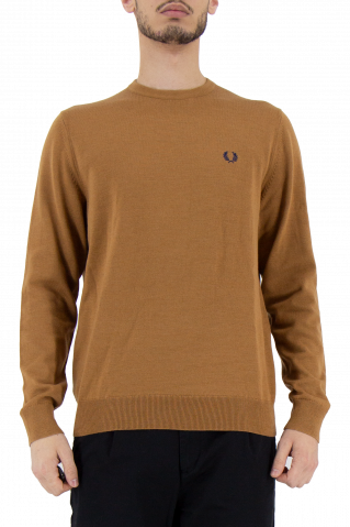 Fred Perry Classic Crew Neck Knit