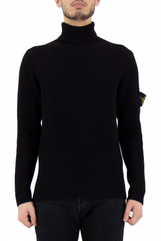 Stone Island Wool Roll Neck Knit
