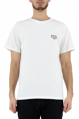 A.P.C. Raymond Embroidered Logo T-Shirt