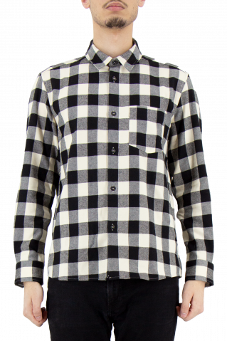 A.P.C John Check Twill Shirt