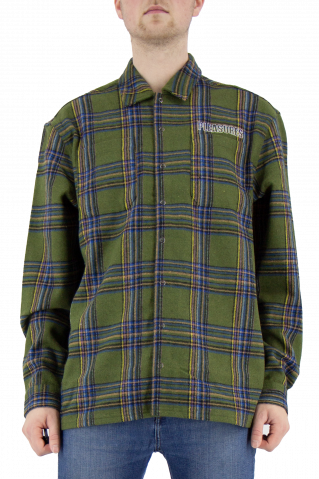 Pleasures Widow Heavyweight Flannel Shirt Jacket