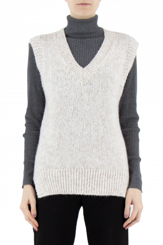 Made in Italy Lea Vest Knit