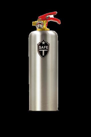 Safe-T Feuerlöscher Matt Steel