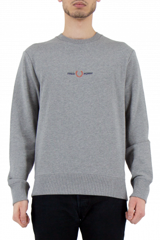 Fred Perry Embroidered Sweatshirt