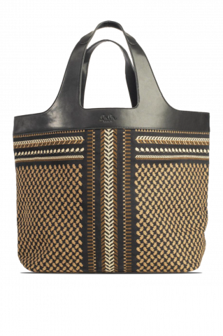 Lala Berlin East West Phoebe X-Stitch Tote Bag