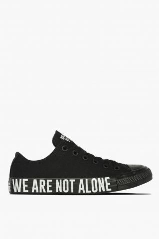 "Converse All Star Low Top ""We Are Not Alone"""