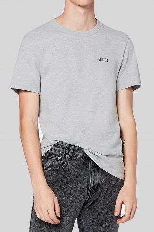 AMI Paris Ami Embroidered T-Shirt