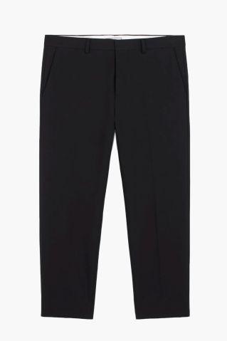 AMI Paris Cropped Fit Pants